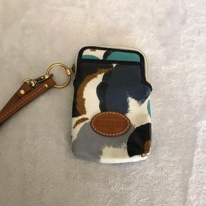 Fossil Cellphone Wristlet Wallet